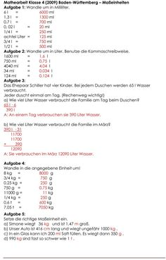 Maßeinheiten Tabelle - http://durac.ch/ma%c3%9feinheiten-tabelle ...