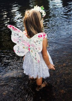 The Wife-made Butterfly Wings Pattern is here! Enjoy crafting your own Wife-made Butterfly Wings, encourage creative and imaginative play in
