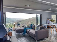 Shipping Container Homes & Buildings: Copia Eco Cabins: Two 40 ft Container Home in Bot Rivier valley by Berman-Kalil, South Africa Luxury Duvet Covers, Luxury Bedding, Cabin Design, Bed Design, Eco Cabin, Prefab Modular Homes, Container House Design, Shipping Container Homes, Shipping Containers