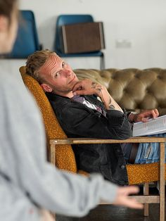The Real Thing Rehearsal Photos   Laurence Fox (as Henry). R…   Flickr