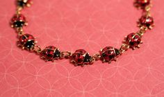 Avon Lady Bug Bracelet - vintage 1990s by FrogTears on Etsy