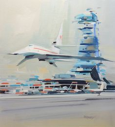John Berkey Art Ltd. | Original John Berkey Sketches For Sale