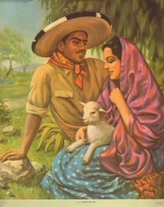 Spanish mexican art