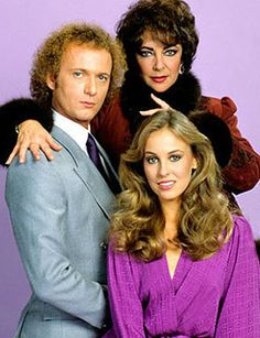 Tony Geary and Genie Francis (Luke and Laura Spencer) with Elizabeth Taylor as Helena Cassadine. General Hospital -- I had forgotten that Elizabth Taylor was once on GH. Soap Opera Stars, Soap Stars, Tony Geary, Laura Spencer, Genie Francis, Luke And Laura, Bold And The Beautiful, Young And The Restless, General Hospital