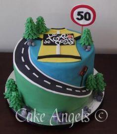 Tour de France Cake