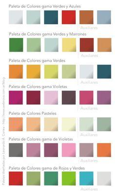 ms paletas de colores lista para usar