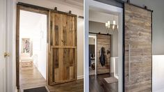 Idee di porte economiche in pallet di legno