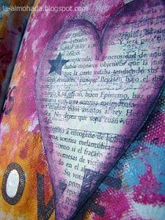 lovers mixed media | mixed media ... love | Artistically speaking... | Pinterest