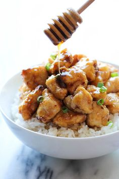 Receta de pollo con miel estilo oriental | ActitudFEM
