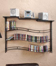 Porta CD e DVD de parede | Hits Móveis Para Organização | * Décor ...