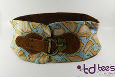 Ankara large / African imprime ceinture  ciel par TeesDesignsShop, $25.00