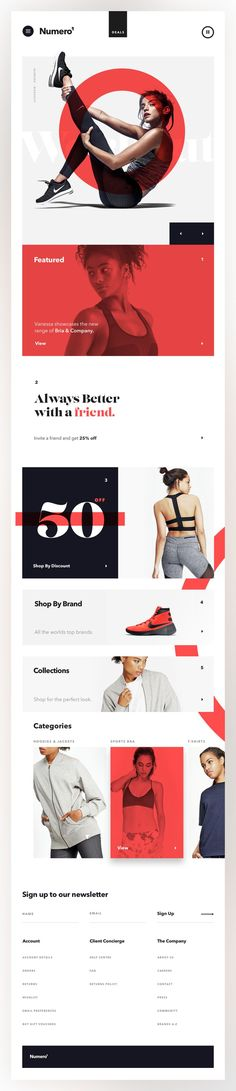 Presentation Design Inspiration, Simple Layout, Point Color