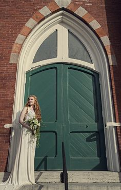 Emerald Green and Gold Wedding Inspiration