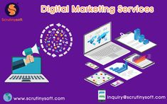 Increase Online Sales, drive highly targeted traffic to your website through Scrutinysoft Digital Marketing Services. Digital Marketing Services, Online Marketing, Social Media Marketing, Online Sales, Website, Business, Search, Products, Searching