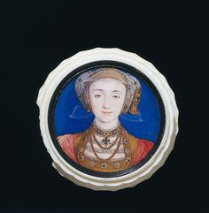 Hans Holbein the Younger, Anne of Cleves miniature, 1539-40 Photograph: V&A Images / Victoria and Albert Museum, London