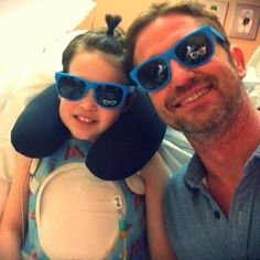 Newly released photo of Gerry with the late Abella Wyss, who lost her long battle with cancer just a few months ago.