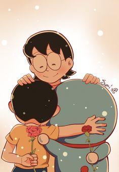 Doremon Cartoon, Cartoon Drawings, Cute Drawings, Cute Cartoon Pictures, Cute Couple Cartoon, Doraemon Wallpapers, Cute Cartoon Wallpapers, Hokusai, Cartoons Love