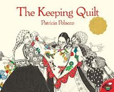 Math Mentor Text-The Keeping Quilt -Although I think this book is simplistic for geometry for 4th grade, it's a good introduction and most students will be able to make a connection. It also would be great to build community in your classroom by creating a classroom quilt.