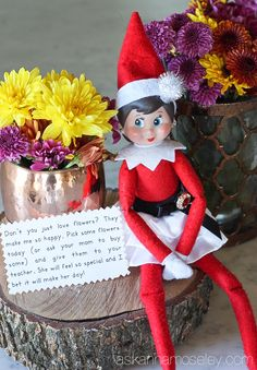A fun spin on Elf on the Shelf - this year our elf is doing 24 days of kind acts toward others and encouraging our kids to join her Love Holidays, Holidays And Events, Christmas Holidays, Christmas Ideas, Christmas Baby, All Things Christmas, Merry Christmas, The Elf, Elf On The Shelf