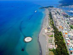 Kaohsiung #Taiwan 高雄 旗津 Taiwan, Travel Guide, Golf Courses, Tourism, Coast, Asia, Earth, Dreams, Island