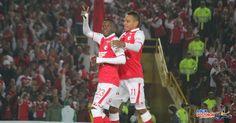 RUGE EL ELÓN.  Santa Fe en Semis. Independiente Santa Fe derrotó de manera contundente y categórica a Real Garcilaso de Perú son un 5-1 en el acumulado. 1 a 3 en la visita y 2 a 0 en el partido de vuelta. Luego de 52 años, los Cardenales vuelven a esta instancia de la Copa Libertadores.  http://www.revistagraderia.co/ruge-el-leon/