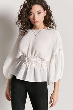 The pretty lace hem gives this S/S jumper a feminine twist. In a light knit that's perfect for the new season, it has a round neckline and long sleeves. Shirt Blouses, Shirts, Fashion Seasons, Plus Size Blouses, Donna Karan, Mannequin, Tunic Tops, Casual, Sleeves