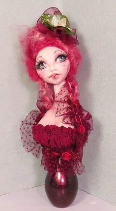 SFM Cloth Dolls With Attitude!: Marie Antoinette Busts