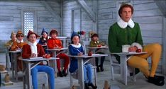 """Will Ferrel in """"Elf"""".  The best way to spread Christmas cheer, is singing loud for all to hear."""