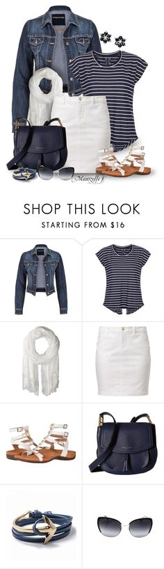 """""""En marinière"""" by mamzelle-f ❤ liked on Polyvore featuring maurices, New Look, Calvin Klein, even&odd, Vionic, Marc Jacobs, Dolce&Gabbana and Victoria Townsend"""