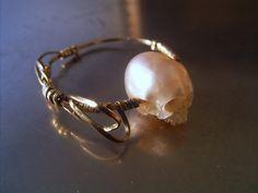 Pearl skull | SHINJI NAKABA