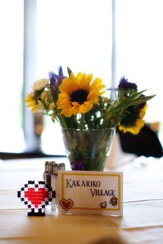 Nintendo-themed wedding