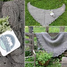 """Beautiful eyelit shawl knitted out of our Romney, Aran weight yarn, """"Ignaz."""" A gorgeous steely grey, this yarn should be a staple in your knitting basket. Aran Weight Yarn, Knit Basket, Prado, Lana, Shawl, Pure Products, Wool, Knitting, Grey"""