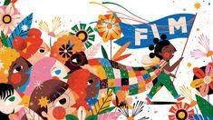 Willian Santiago on Behance Flat Illustration, Children's Book Illustration, Character Illustration, Adobe Photoshop, Behance, Rest, Children Images, Drawing For Kids, Art Direction