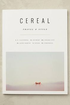 Cereal Magazine, Band 10                                                                                                                                                                                 More