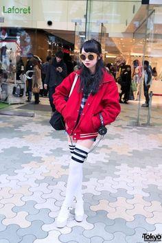 Tokyo Harajuku Kawaii girls fashion cute pop vivid neon colorful Japanese street