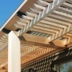 Victoria Read Architecture pergola detailing