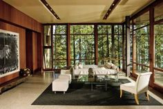 Modern Living Room and Roderick Ashley in Lake Tahoe, Nevada