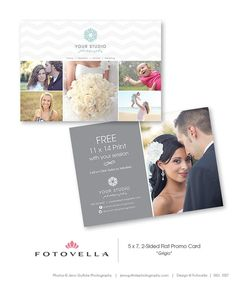 Photography Postcard Template By Business Templates On - Photography postcard template