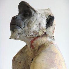One of Nichola Theakston's amazing ceramic sculptures. #nicholatheakston #ceramics #sculpture | nicholatheakstonceramics.co.uk