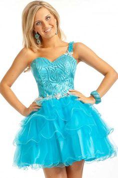 Lovely Bobbi skirt http://www.ulovee.com/2013-cheap-blue-ball-gown-short-one-shoulder-homecomingcocktail-dress-uloveecom_p2943.html