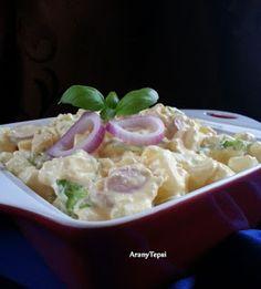 AranyTepsi: Krumplisaláta gazdagon