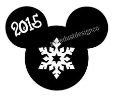 Disney Inspired Christmas Mickey Head ornament Rudolph