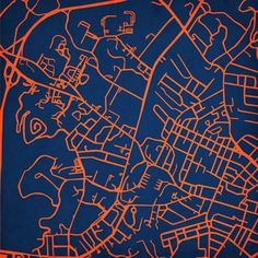 University of Virginia | City Prints Map Art. $40.