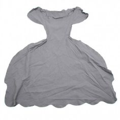 comme des garcons spring 2008 flouncy scallopy widey dress