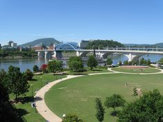 Downtown Chattanooga   Downtown Chattanooga Park that Is a Must See   Chattanooga and Lookout ...