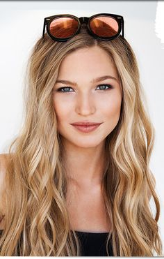 Bb - color & loose waves