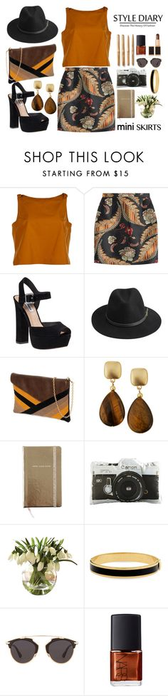 """""""Brown"""" by gaviottarindy ❤ liked on Polyvore featuring Fendi, Dsquared2, Steve Madden, BeckSöndergaard, yeswalker, Kenneth Jay Lane, Kate Spade, Dot & Bo, Halcyon Days and Christian Dior"""
