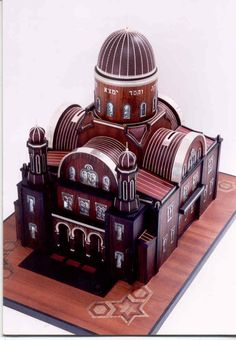 Charity Box FLORENCE SYNAGOGUE by gru2000 on Etsy https://www.etsy.com/listing/58793938/charity-box-florence-synagogue