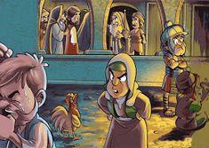SGBlogosfera. Amigos de Jesús: PREPARAMOS LA SEMANA SANTA Bible Crafts, Bible Art, Jesus Cartoon, Jesus Artwork, Spiritual Pictures, Bible Stories For Kids, Bible Illustrations, Easter Story, Jesus Pictures