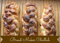"""Before taking challa, of course you need a great challah recipe. This is how I make my water challah recipe. Rachel Miller of Jerusalem, """"The Challah Lady"""" Challah Bread Machine Recipe, Best Bread Machine, Freezer Cooking, Freezer Meals, Kosher Recipes, Cooking Recipes, Frugal Recipes, Kosher Food, Gourmet"""